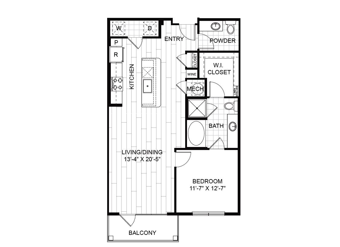 One Bedroom Apartment For Rent The Heights Houston Tx