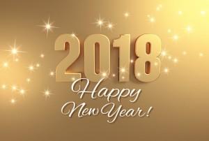 Golden greetings 2018