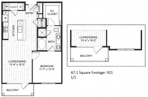One Bedroom Apartment the Heights,A7 909